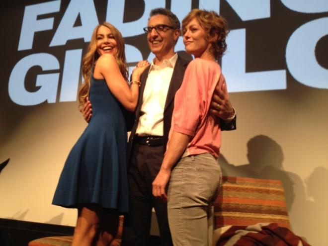 John Turturro, Sofia Vergara e Vanessa Paradis ad una conferenza stampa di