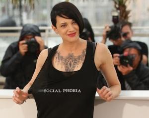 Asia Argento alla 67a edizione del Festival di Cannes