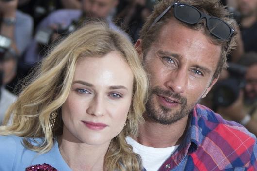 Diane Kruger e Matthias Schoenaerts al festival di Cannes per